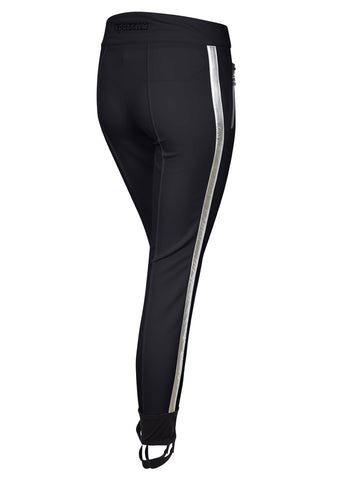 Maffei Lurex Skinny Ski Leggings - Black