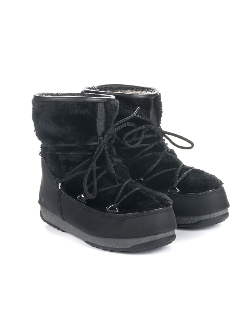 Moon Boot Monaco Low Fur WP 2 - Black