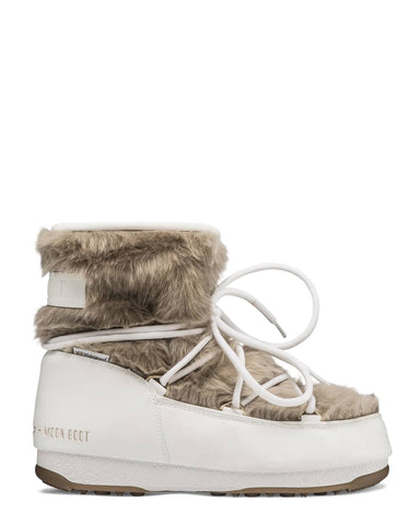 Moon Boot Monaco Low Fur WP 2 - White