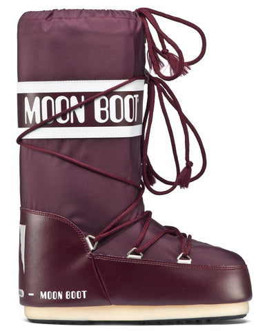 Moon Boot Nylon - Burgundy