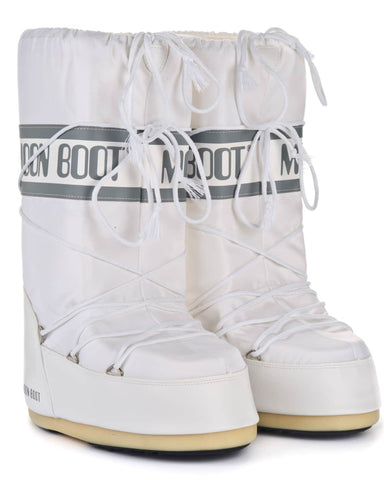 Moon Boot Nylon - White