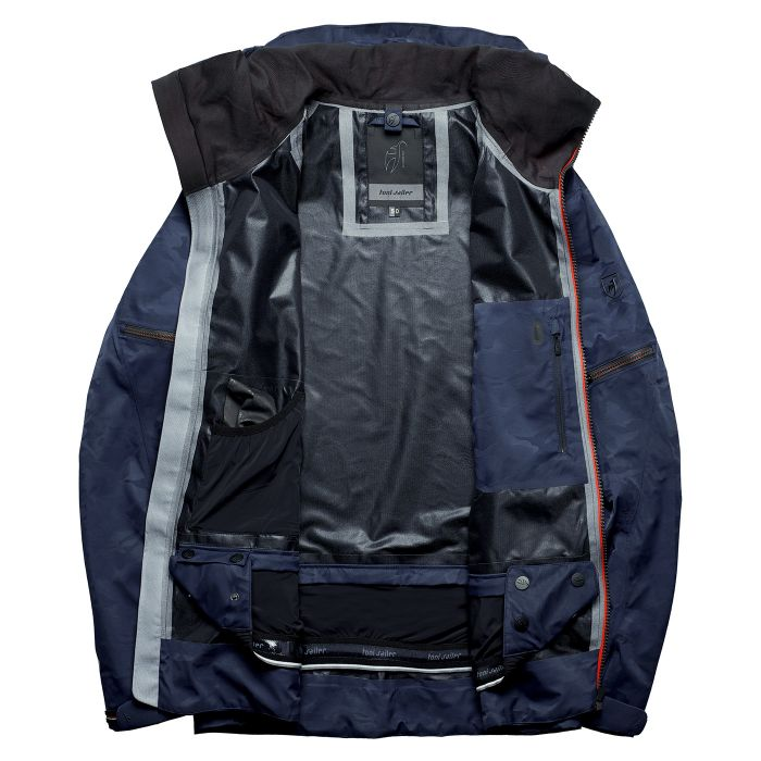 RYKR Camou Ski Jacket - Midnight