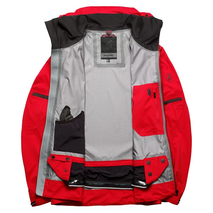 RYKR Ski Jacket - Flame Red