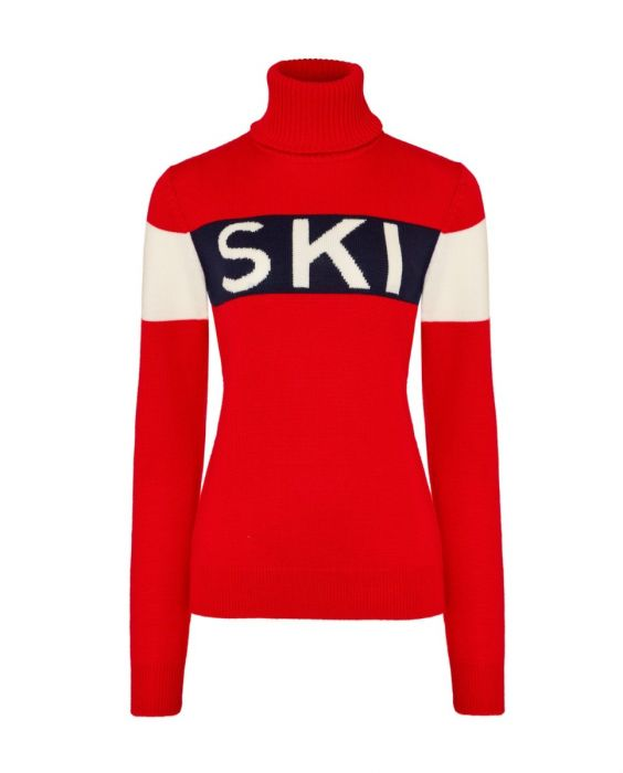 SKI Sweater - Red