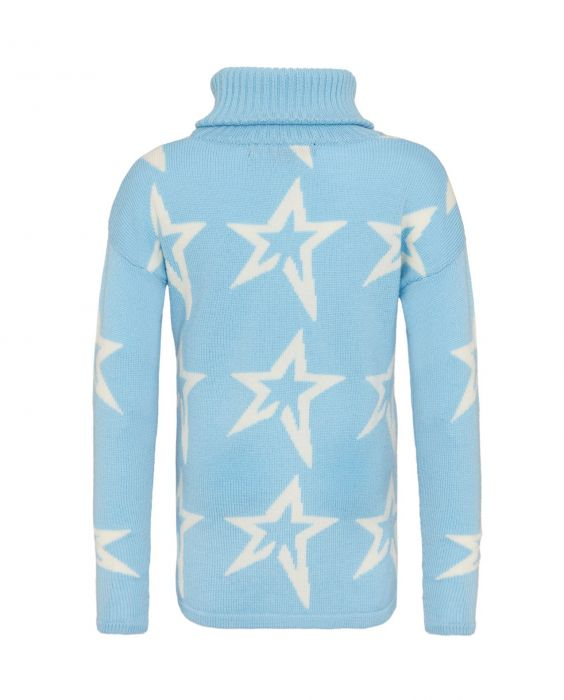 Star Dusk Sweater Kids - Alaska Blue