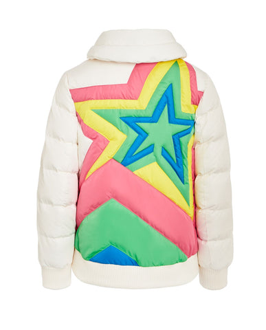 Super Star Jacket Kids - Snowwhite Rainbow