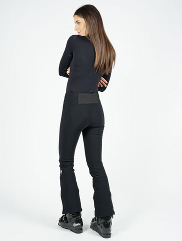 Tipi Flare Ski Pants - Black