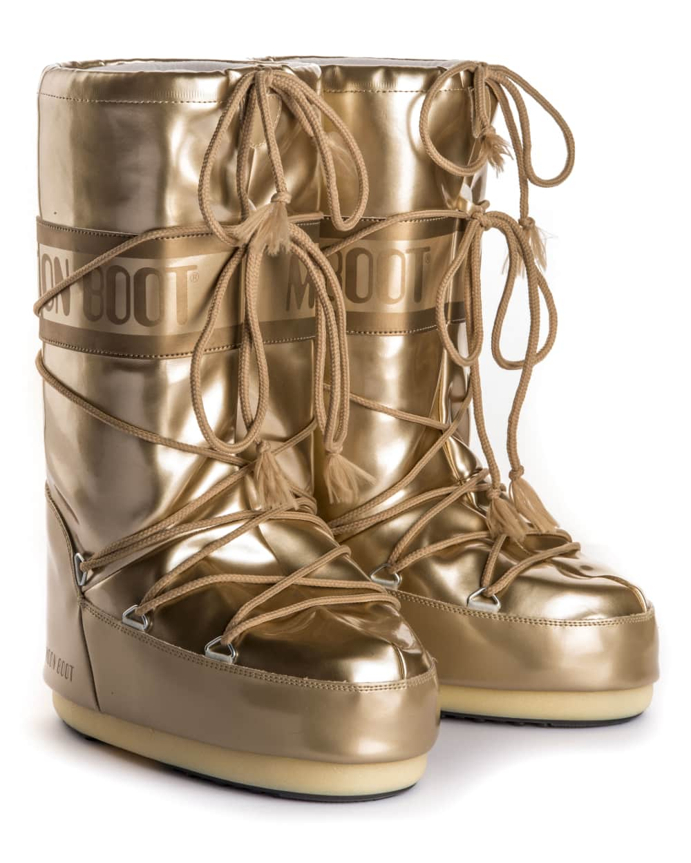 Moon Boot Vinile Met - Gold