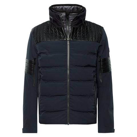 William Mens Shoulder Patch Jacket - Midnight