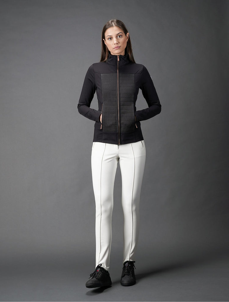 Anna II Quilted Mid-Layer Light Jacket - Noir