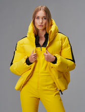 Load image into Gallery viewer, Barsy Panel Bomber Ski Jacket - Yellow