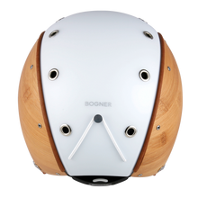 Load image into Gallery viewer, Bogner Bamboo Motorcycle Helmet - White