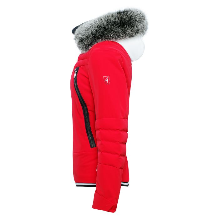 Cosima Performance Ski Jacket - Red