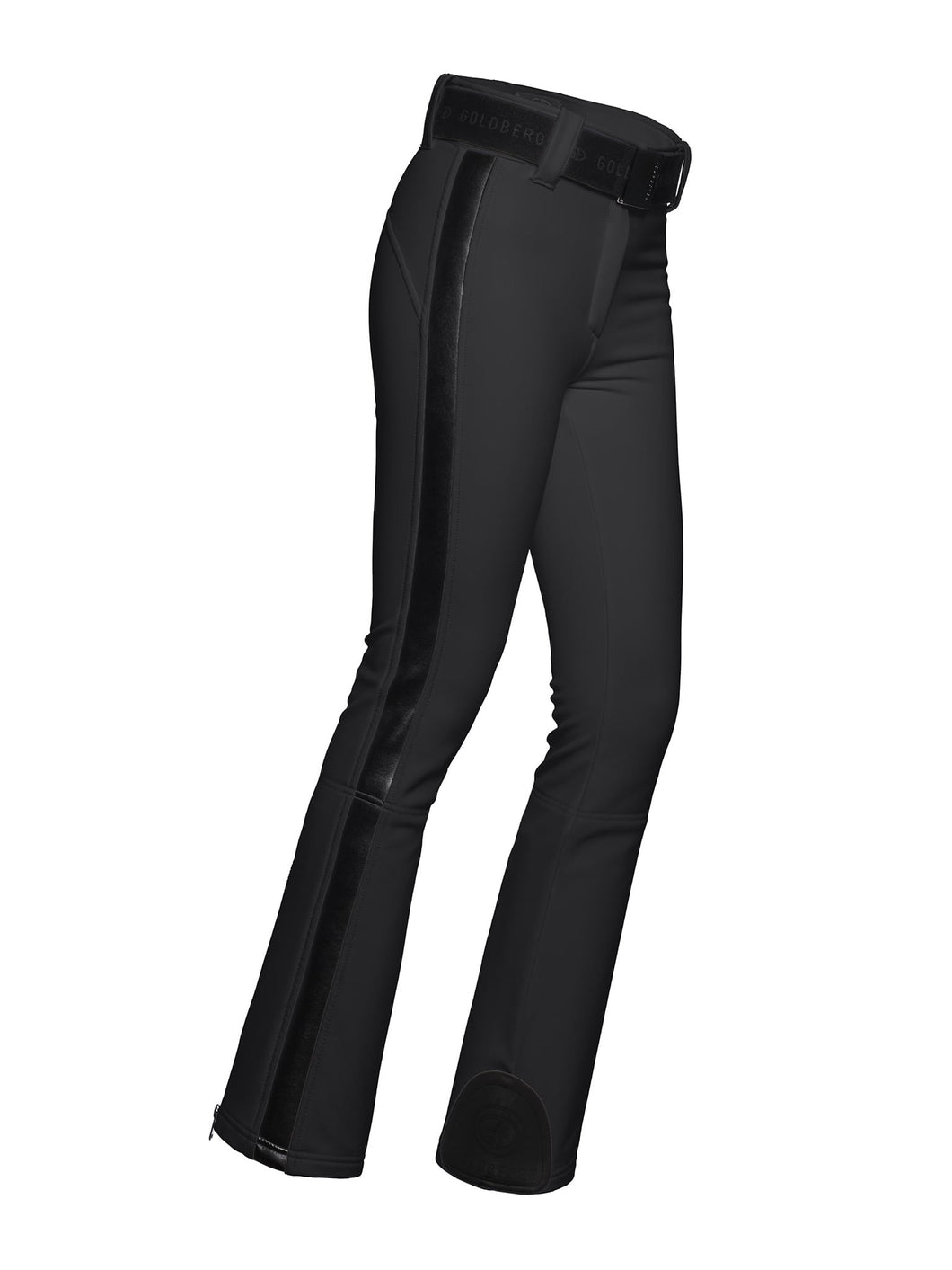 PALOMA pants W SIDE STRIPS – BLACK