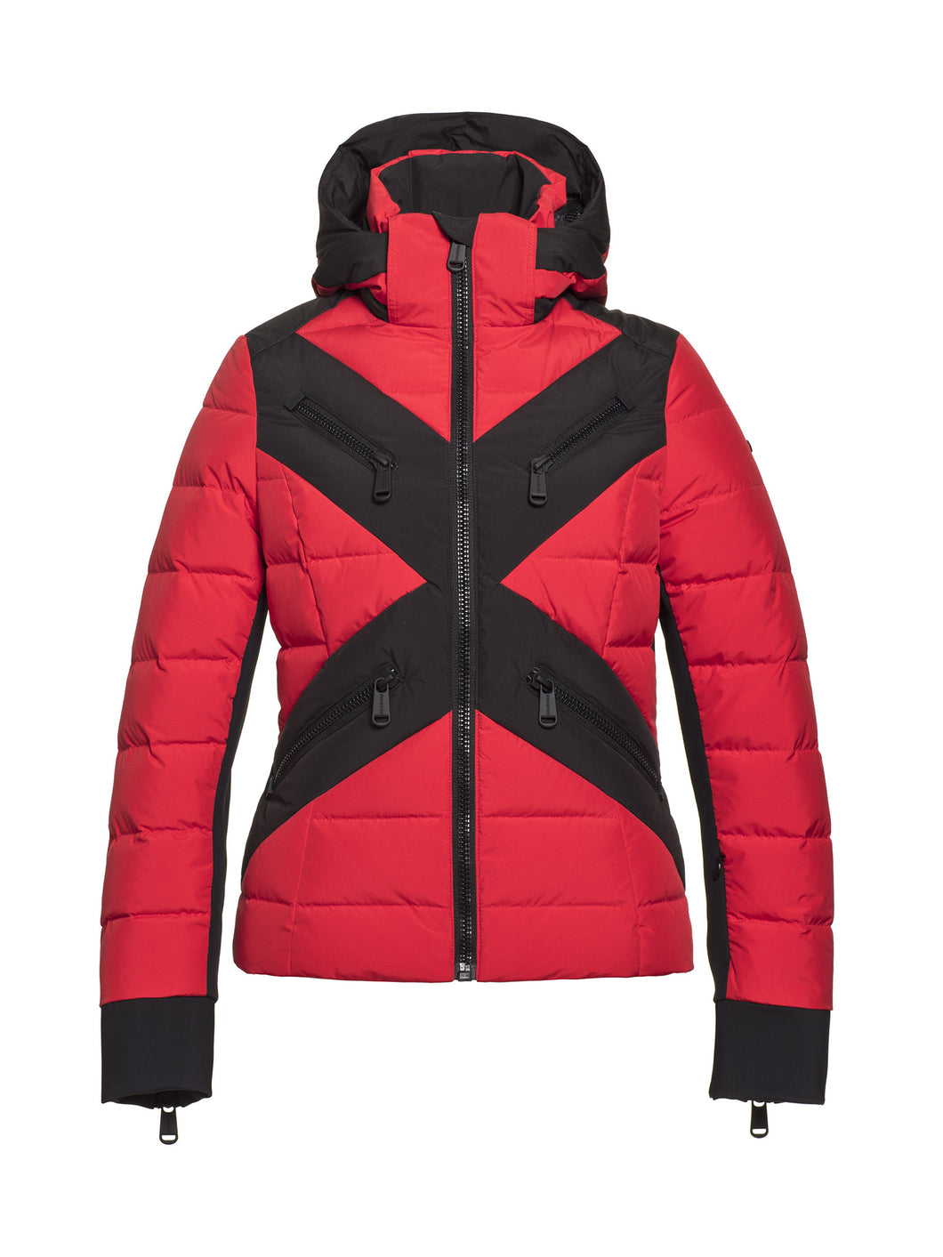 Cross, Laides Woven Ski Jacket - Red