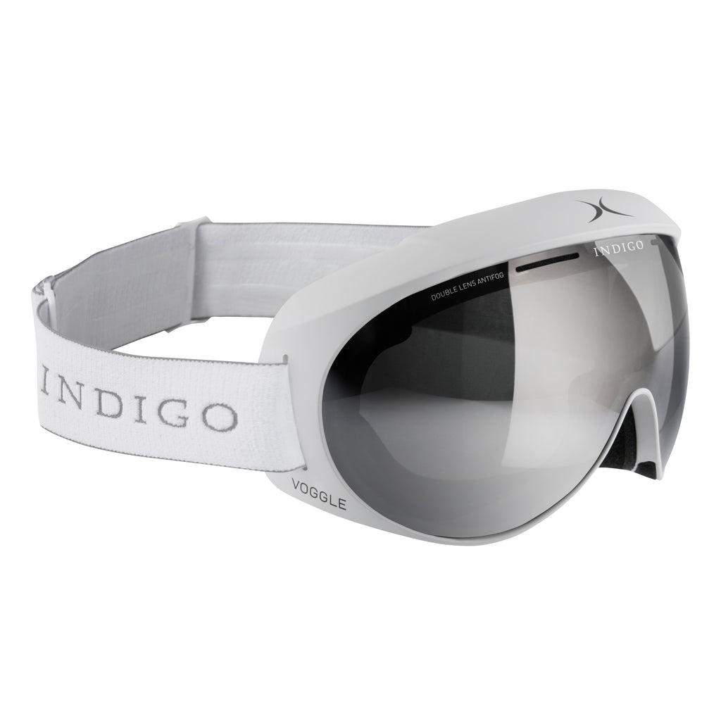 Voggles Goggles Asia Fit - Mirror Chrome White
