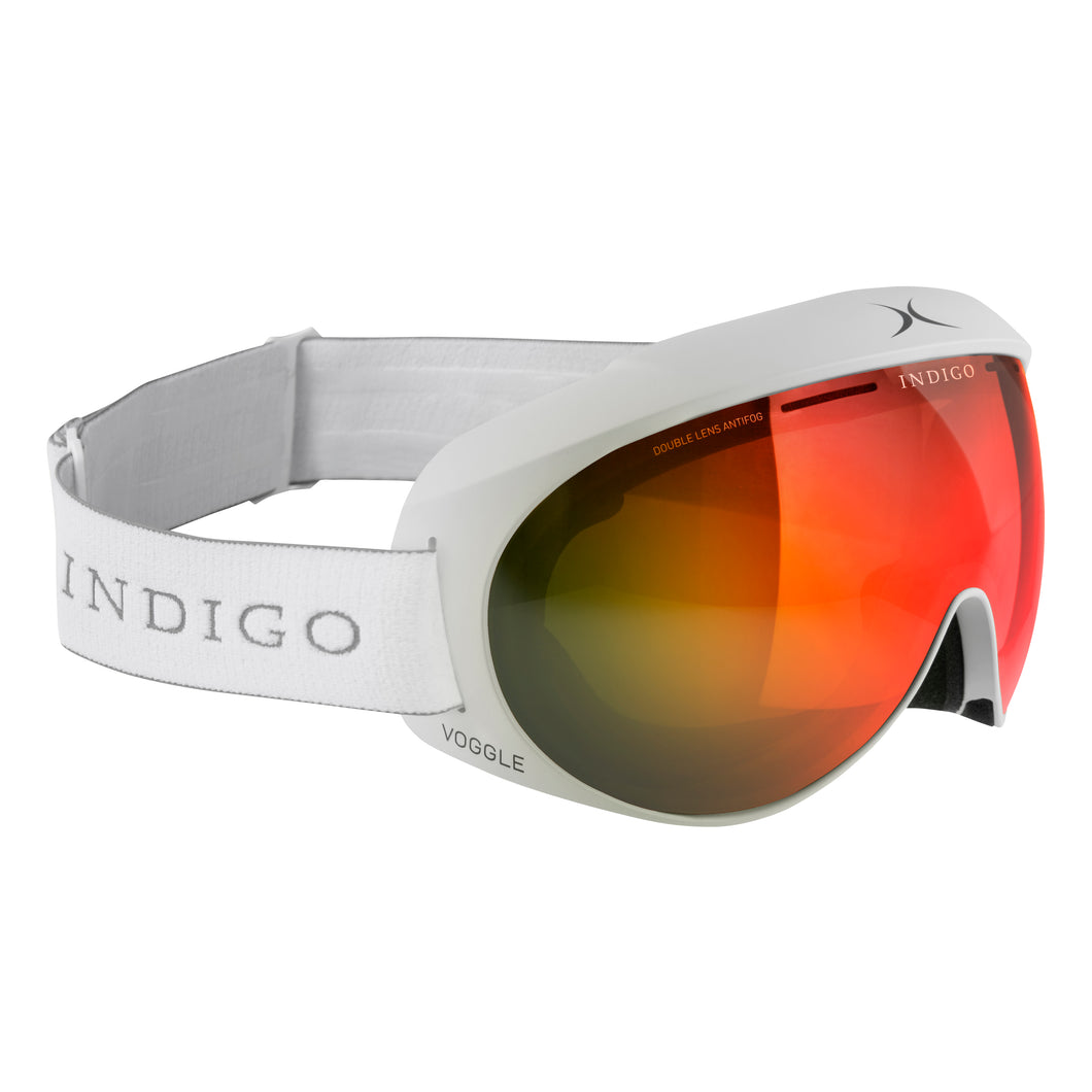 Voggles Goggles Asia Fit - Mirror Red White