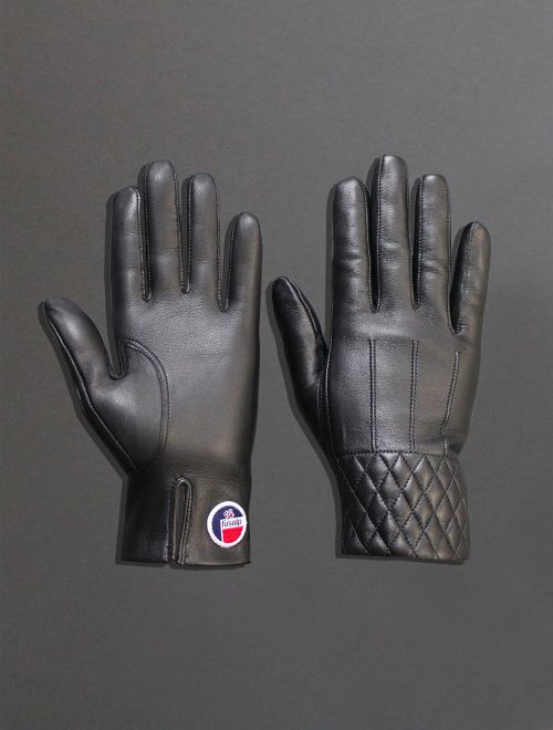 Painy Waterproof Leather Apres Ski Gloves