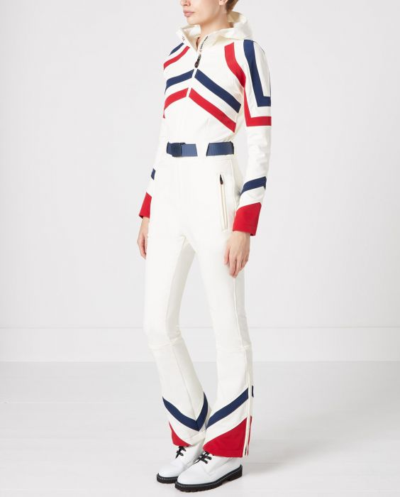 Tignes Ski Suit - Snow white