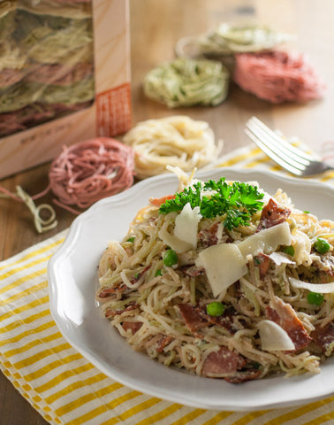 Light Angel Hair Carbonara