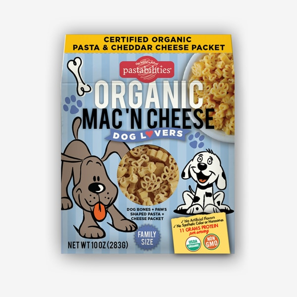 Organic Dog Lovers Mac 'N Cheese - Picnicology, Organic Mac 'N Cheese - Pasta