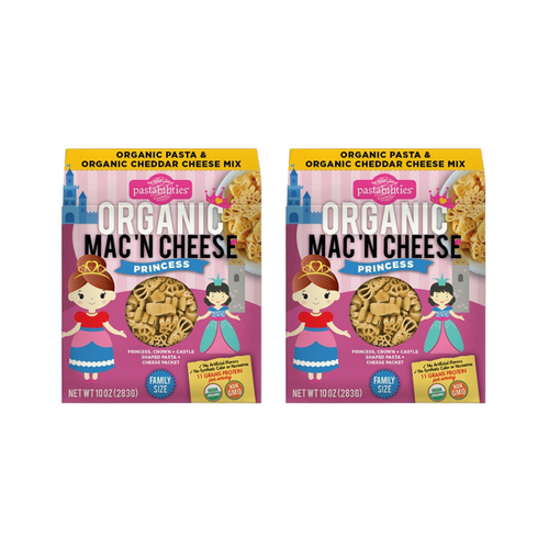 Organic Mac 'N Cheese Combo - Princess (2 Pack)