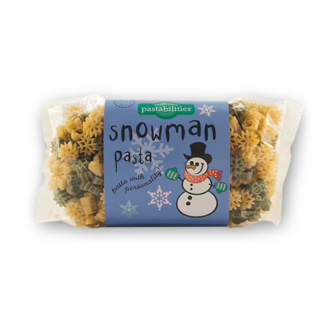 Snowman Pasta - Picnicology, Fun Shapes Pasta - Pasta