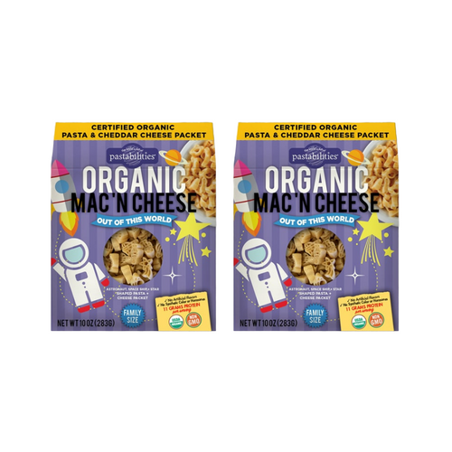 Organic Mac 'N Cheese Combo - Out of this World (2 Pack)