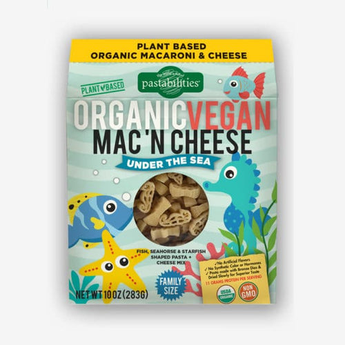 Organic VEGAN Under the Sea Mac 'N Cheese - Picnicology, Organic Mac 'N Cheese - Pasta