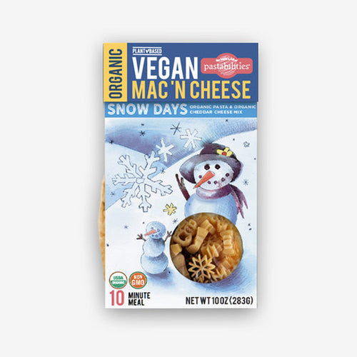 VEGAN Snow Days Mac 'N Cheese