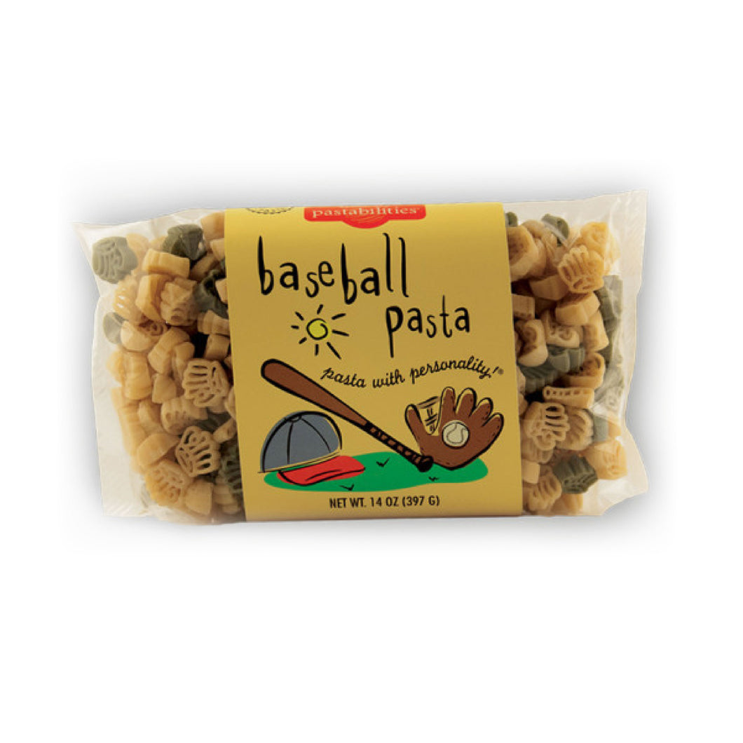 Baseball Pasta - Picnicology, Fun Shapes Pasta - Pasta