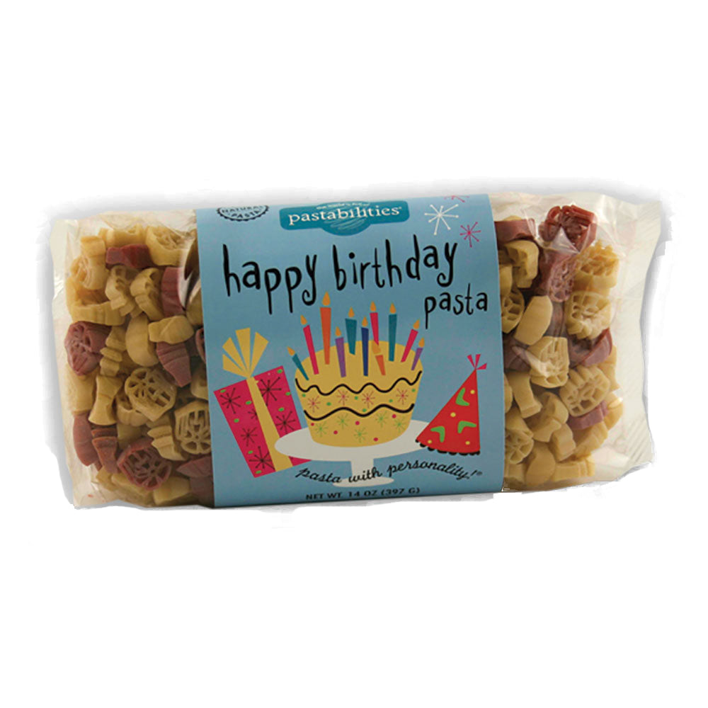Happy Birthday Pasta - Picnicology, Fun Shapes Pasta - Pasta