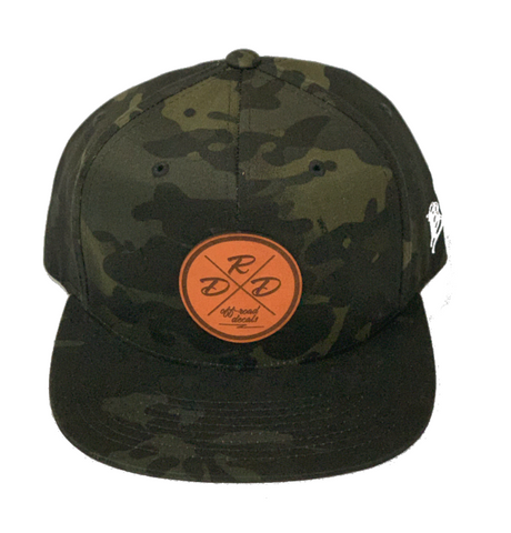 Black Camo Patch Snapback