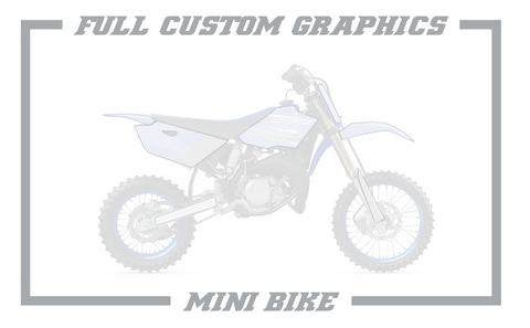 Full Custom Graphics; Mini Bikes