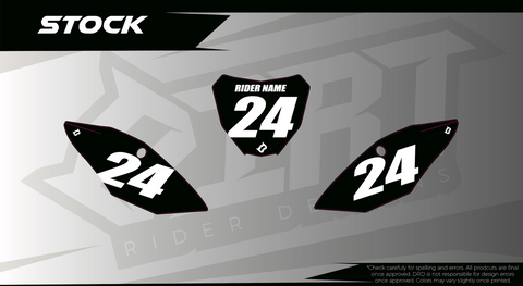 Number Plate Backgrounds