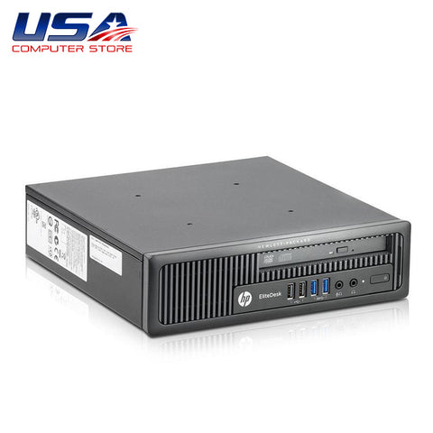 Picture of HP EliteDesk 800 G1 Desktop i5 4th Gen 8GB 256GB SSD Solid State Drive Windows 10 Pro