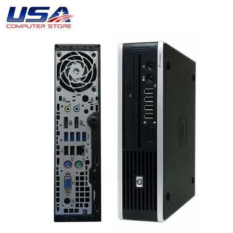 Picture of HP 8300 Elite Ultra Slim Desktop i5 3rd Gen 8GB 250GB Windows 10 Pro