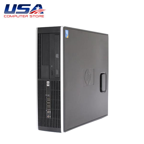 Picture of Complete Dual Set HP 8000 Elite Intel Core 2 Duo 3.0GHz 4GB 250GB Win 10 + 19