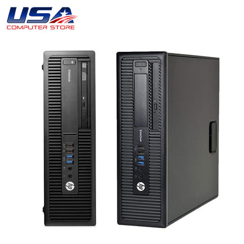 Picture of HP EliteDesk 800 G2 Desktop i5 6th Gen 8GB 256GB SSD Solid State Drive Windows 10 Pro