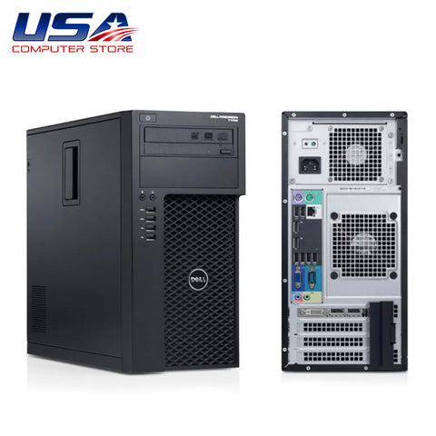 Picture of Dell Precision 3620 Tower Intel Core i3 7th Gen 8GB 500GB Windows 10 Pro