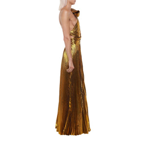 The Gold Lame Gown