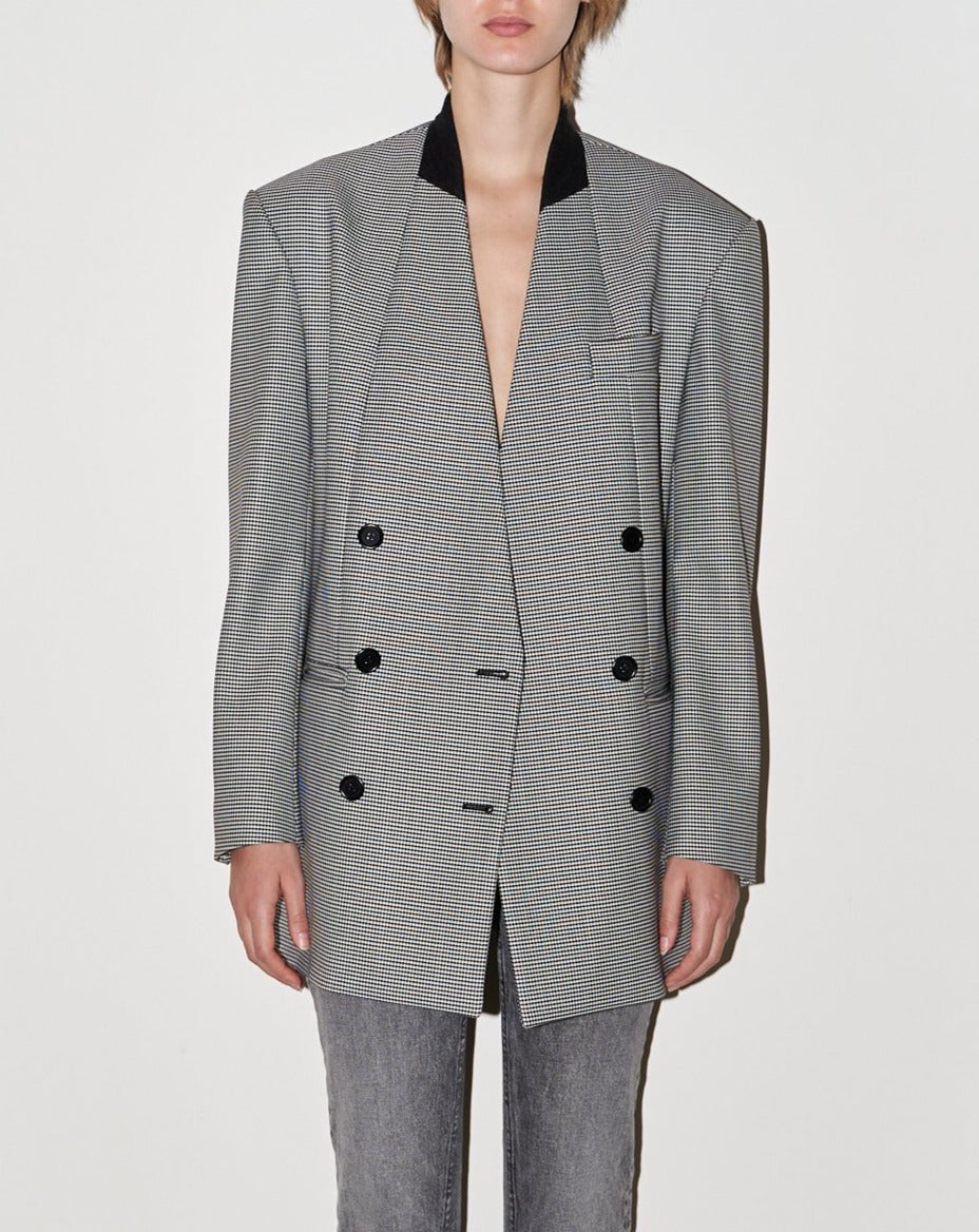 The Diana Double Breasted Oversized Blazer