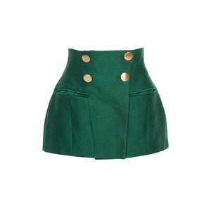 The Janet Double Button Pocket Corset/Skirt