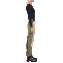 Load image into Gallery viewer, The Nina Beige and Khaki Cargo Pant