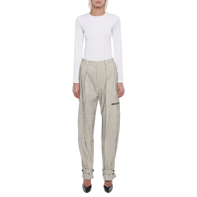 The Striped Tapered Trousers