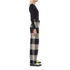 The Check Tapered Trousers