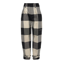 Load image into Gallery viewer, The Check Tapered Trousers