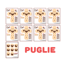 Puglie and Ollie Papercraft