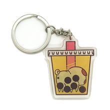 Bubble Tea Puglie Keychain