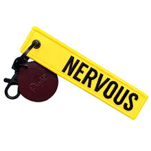 Nervous Puglie Key Tag